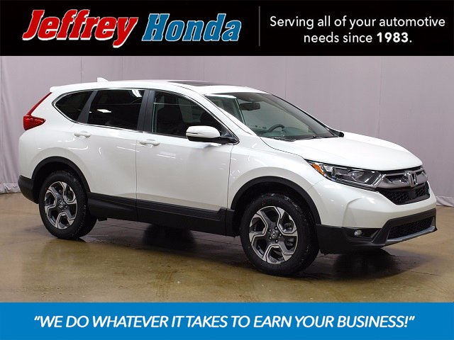 new 2017 honda cr v ex l 4d sport utility in roseville j003366 jeffrey honda. Black Bedroom Furniture Sets. Home Design Ideas
